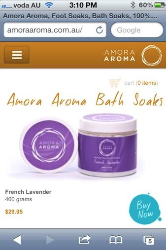 Amora Aroma mobile