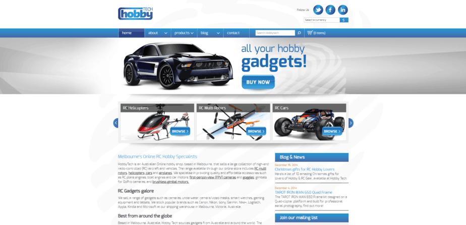 Hobby Tech desktop