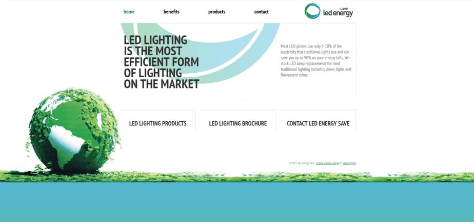 LED Energy Save desktop
