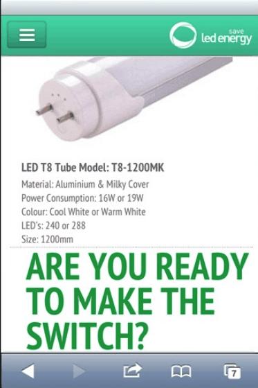 LED Energy Save mobile