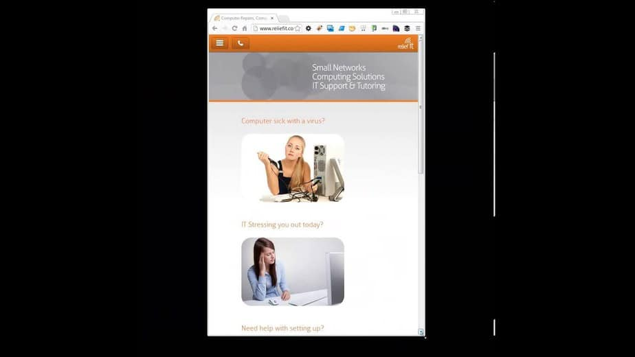 Mobile Website Responsive Design video