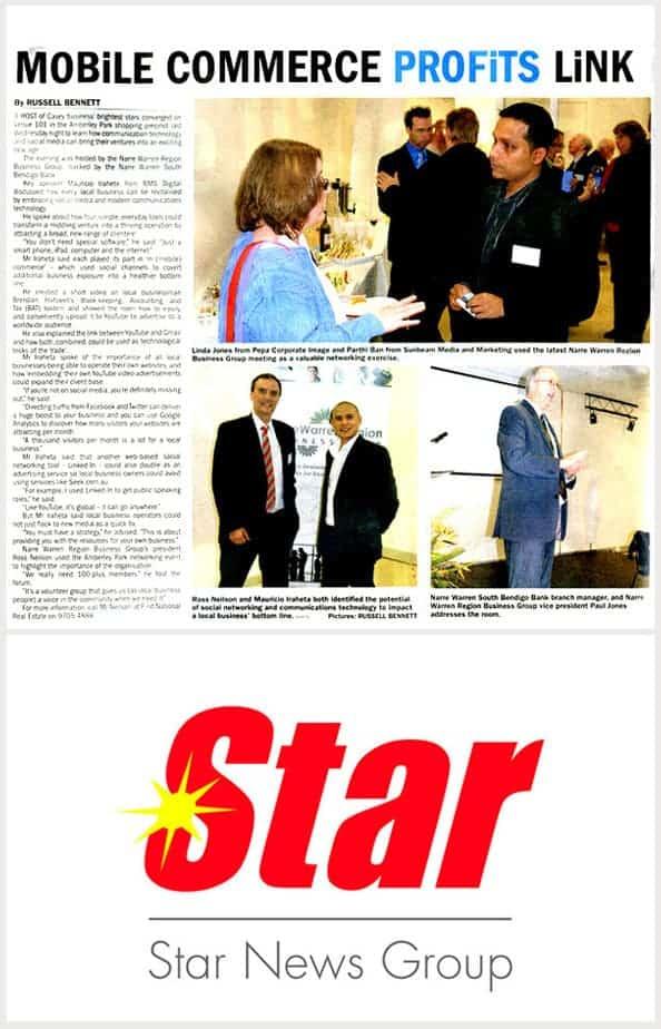 StarNews Digital Director Mauricio Iraheta
