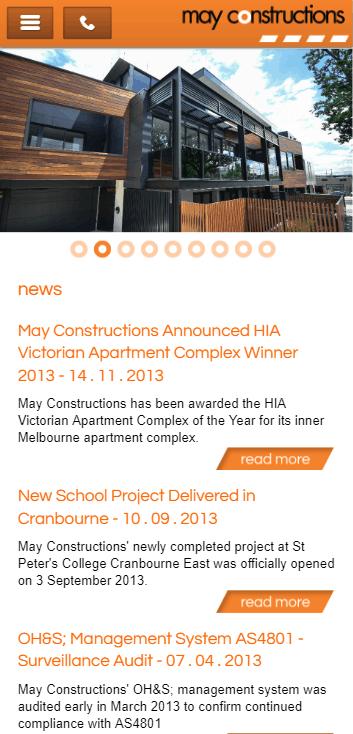 May Constructions
