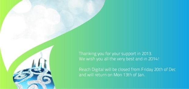 reach digital Christmas 2013