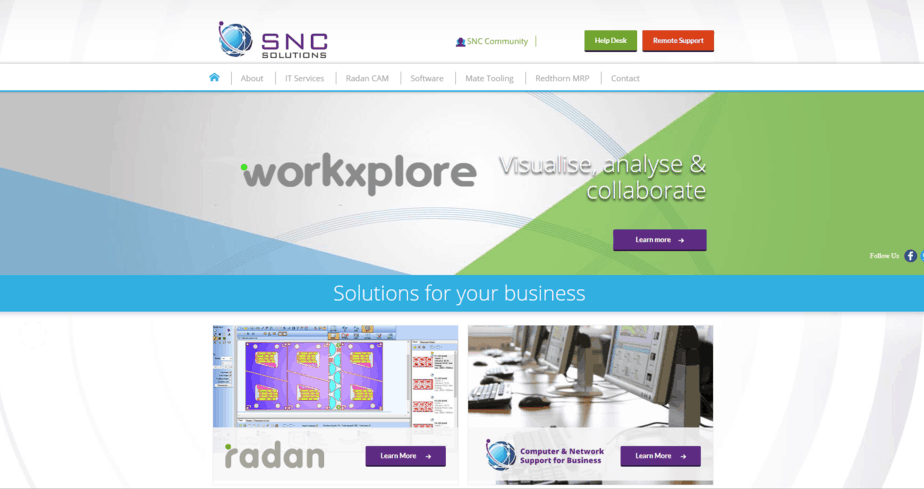 sncsolutions desktop