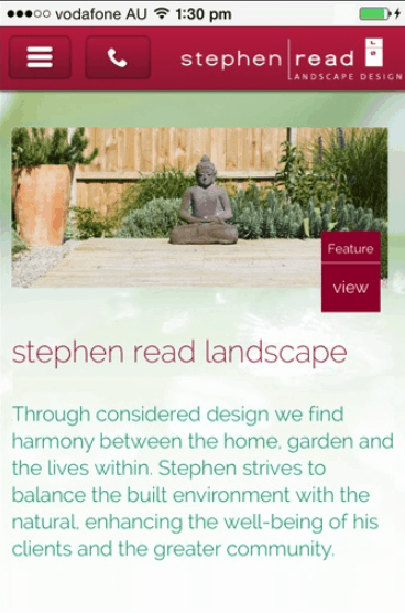 stephen read landsscape design mobile